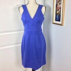 Ted Baker London Purple Blue Dress Size: 3 US 8